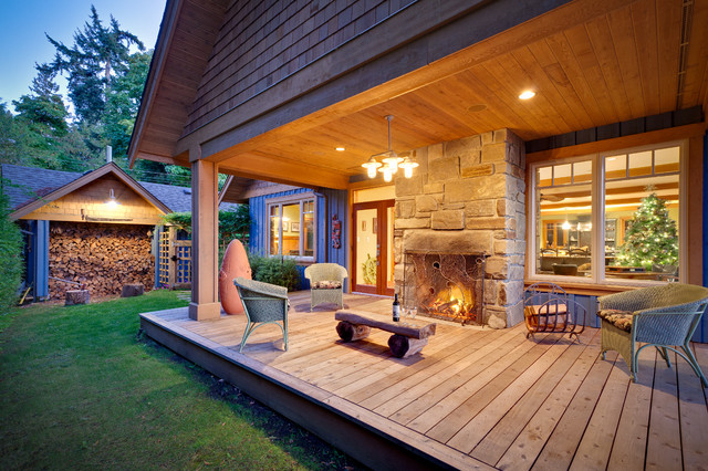 Mermaid Manor Traditional Porch Vancouver By