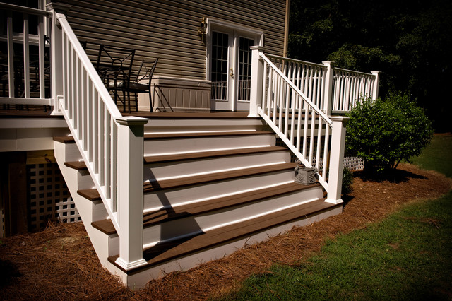 Miles Deck Contemporary Porch Raleigh By Cqc