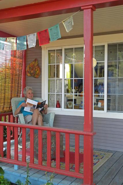Mimi and Eric farmhouse-porch