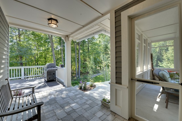 Minnetonka Residence traditional-porch