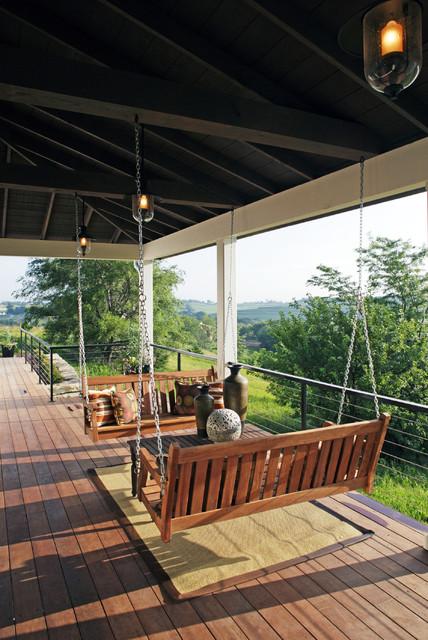 Traditional Swing For Living Room: Modern Farmhouse