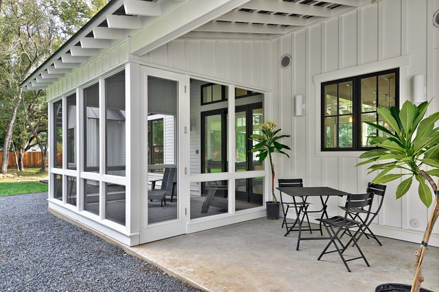 Modern Farmhouse Farmhouse Porch Austin By Redbud