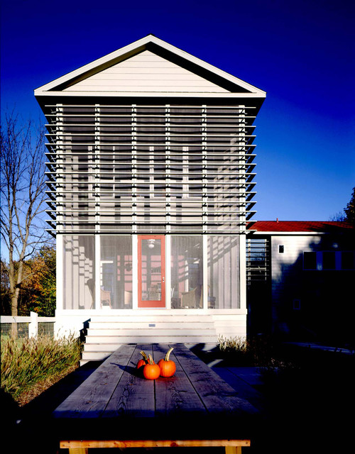 Modern Shaker Contemporary Porch Other By Weese Design