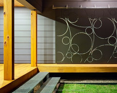 Moontower Residence contemporary porch