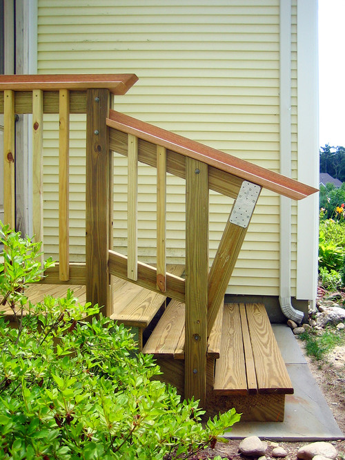 Mr. Stairs traditional porch