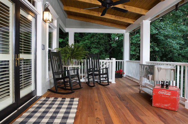 Multi Level Enjoyment Traditional Porch Atlanta By
