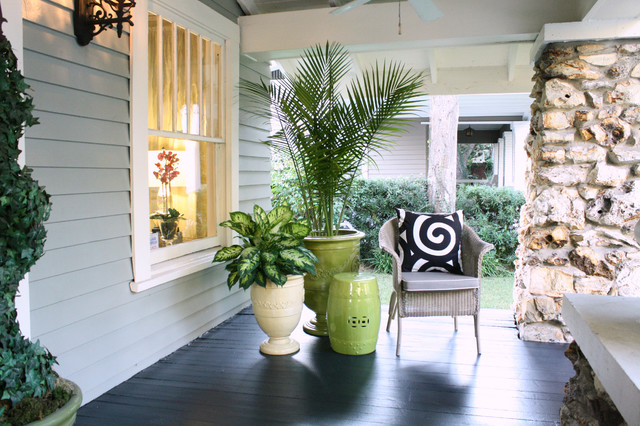 My Houzz Mcgeachy Residence Transitional Porch