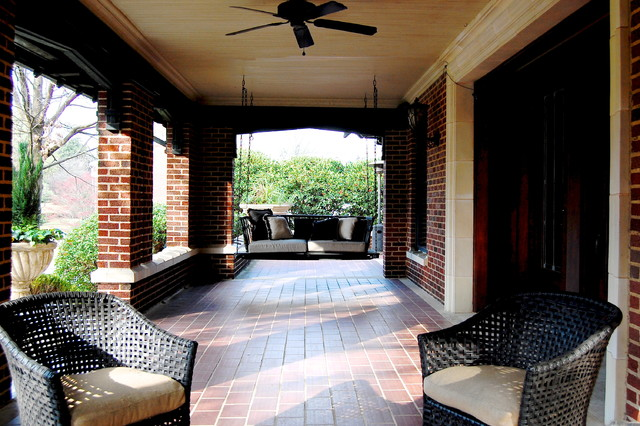 My Houzz: Early 1900s Home blends Traditional Design with Comfort and Style traditional-porch