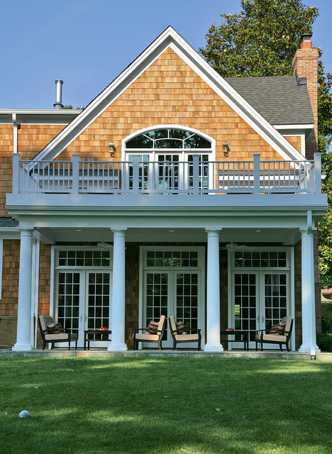 Outdoor Light Sconces picture on Nantucket Style Shingled House In Potomac MC traditional porch dc metro with Outdoor Light Sconces, Outdoor Lighting ideas 6d49b7b59dca8543a2d23172f2b78bcc
