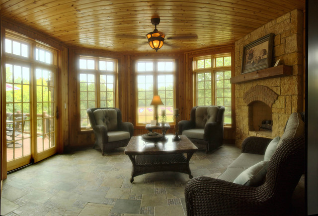 Naperville Showcase Home Traditional Porch Chicago