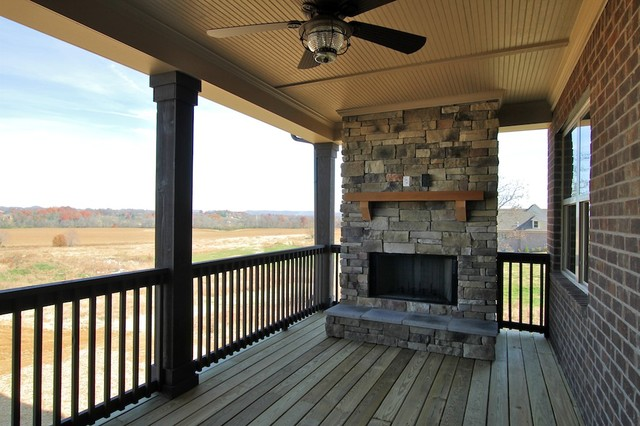 New Construction Traditional Porch Other Metro By