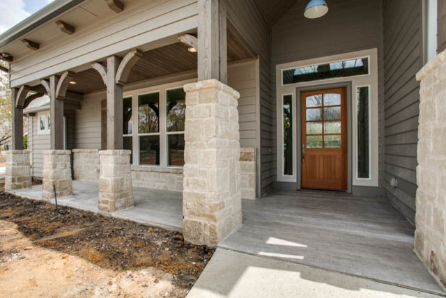 New Custom Home McKinney TX traditional-porch