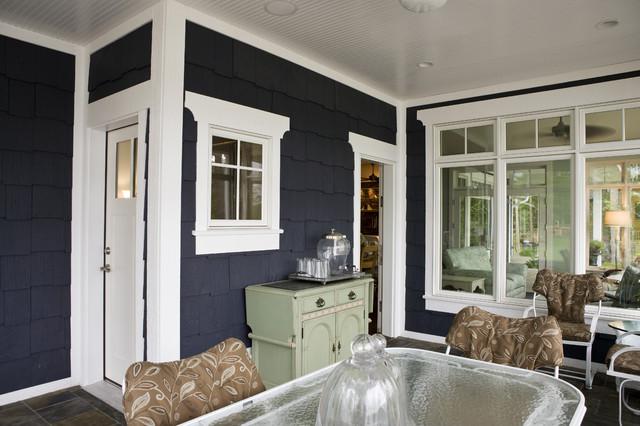 New England Cottage Traditional Veranda