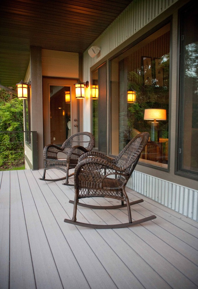 This is an example of a traditional porch design in Other.
