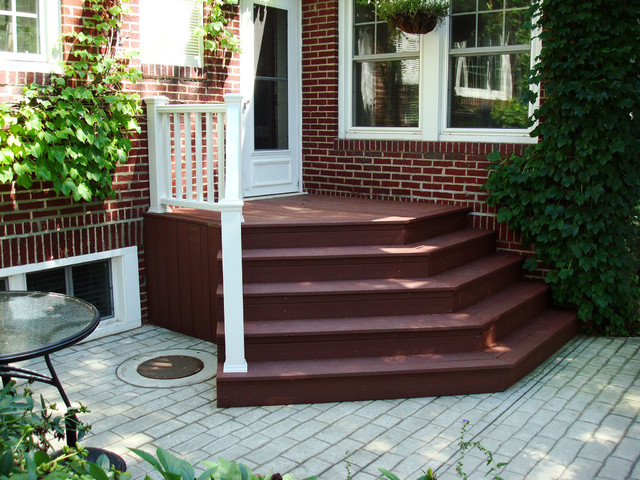 New Lenox Composite Stairs
