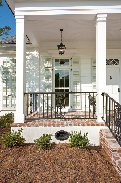 New Orleans Charm with a Private Courtyard traditional porch