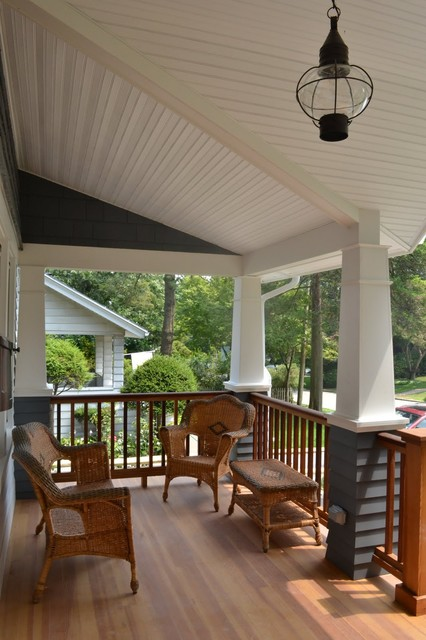 North Shore Long Island traditional porch
