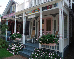 Oak Bluffs Painted Ladies eclectic-exterior