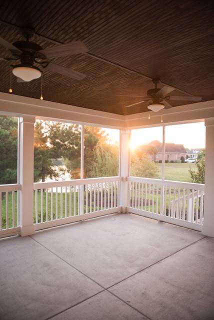 Ocean Ridge Plantation Model Home traditional-porch