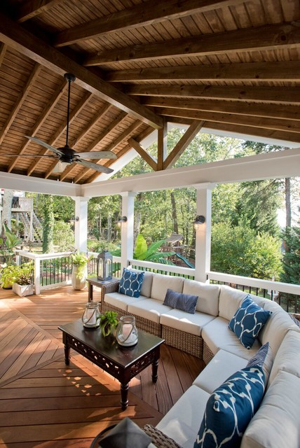 porches beach style porch atlanta by atlanta porch patio
