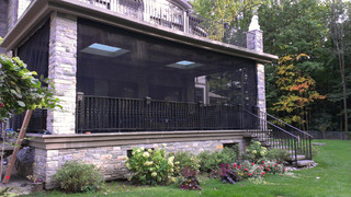 Exceptional Outdoor Curtains/Mosquito Drapes/Porch Screens   Contemporary   Porch    Toronto   By ResCom Designs