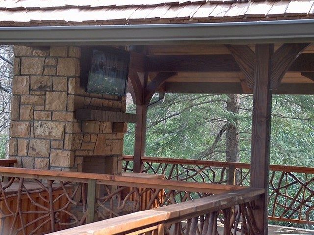 4 Forty Four - Blowing Rock, NC porch