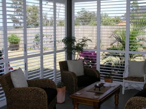 Outdoor Living   Enclosed Deck, Patio Or Porch Traditional Porch
