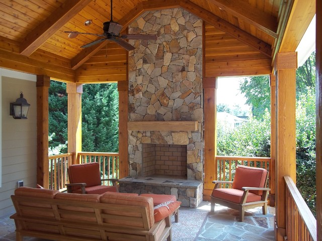 Outdoor Living traditional-porch