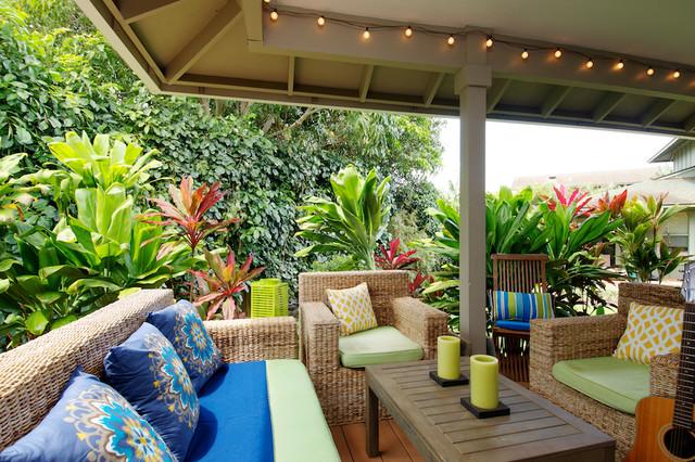 Elegant Interior Designers U0026 Decorators. Outdoor Living Tropical Porch
