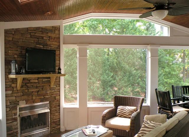 Outdoor Living/Screen Porches traditional-porch