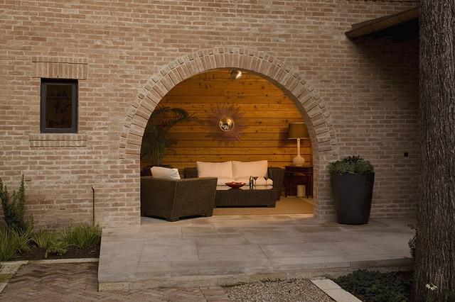 Outdoor Living Space contemporary-porch