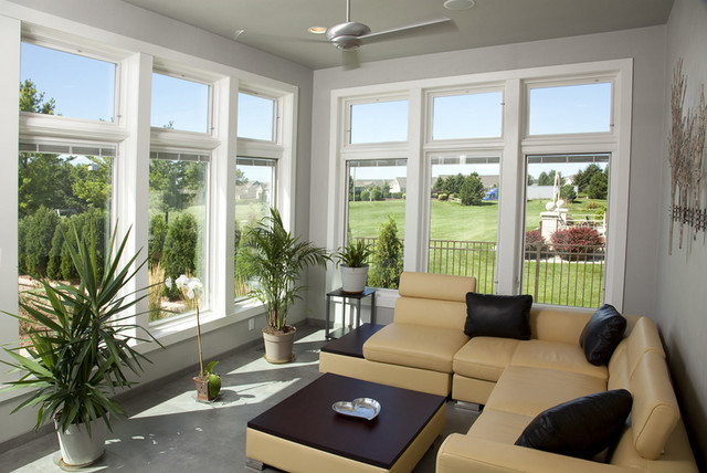 Outdoor Living Spaces traditional-porch