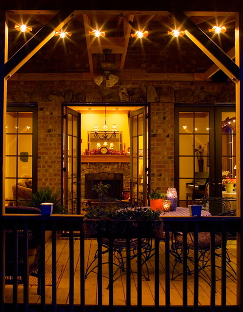 Outdoor Oasis eclectic-porch