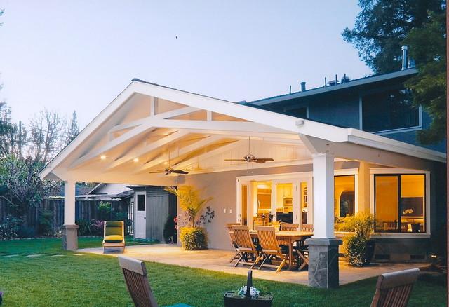 Outdoor rooms traditional veranda san francisco by for The veranda clayton homes