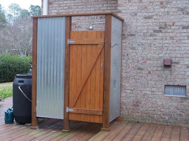 Outside Showers Contemporary Verandah Wilmington