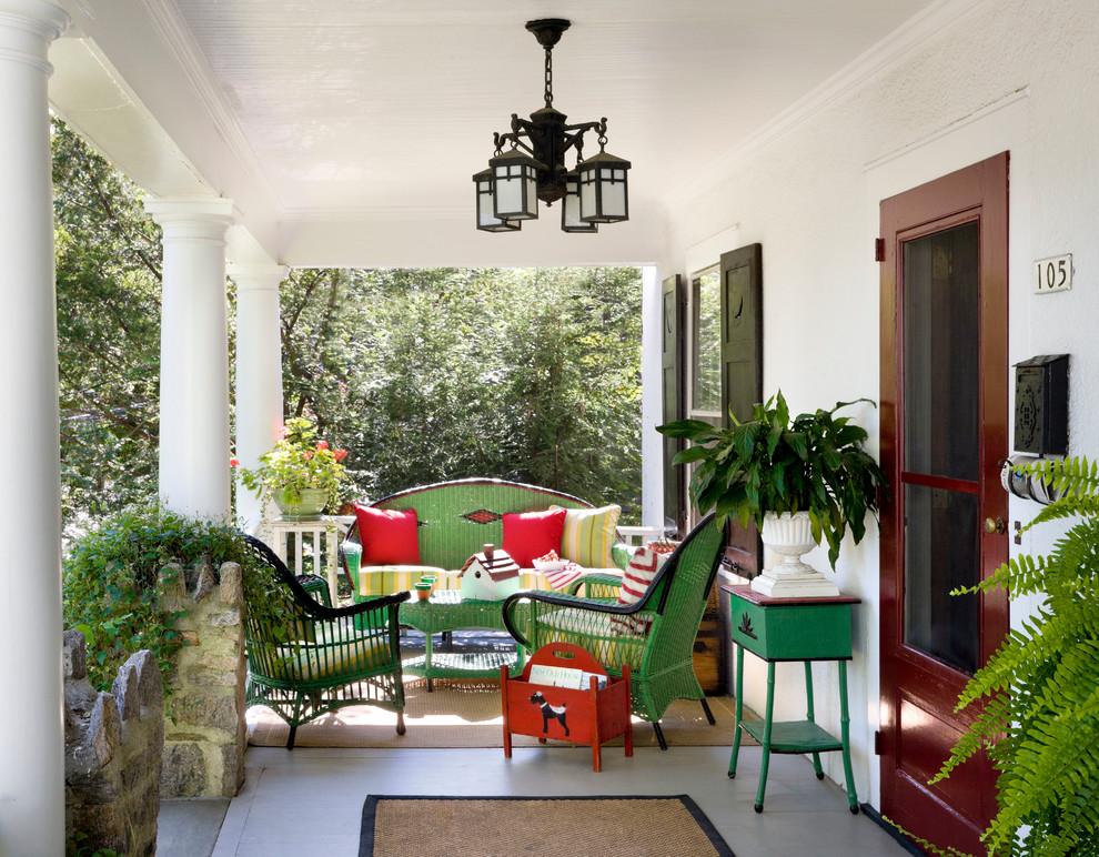 Classic porch idea in New York