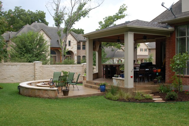Patio Cover And Porches Contemporary Porch