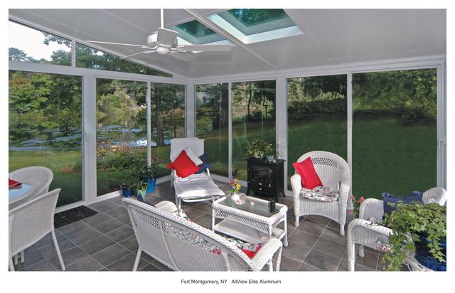 Patio Enclosures Sunroom traditional-porch