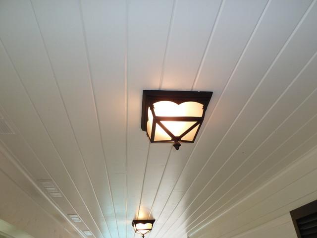 Patio Lighting contemporary-porch