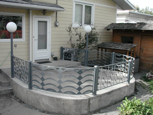 Patio Railing contemporary-porch