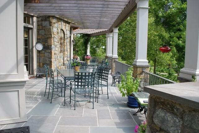 Patio Spaces traditional-porch