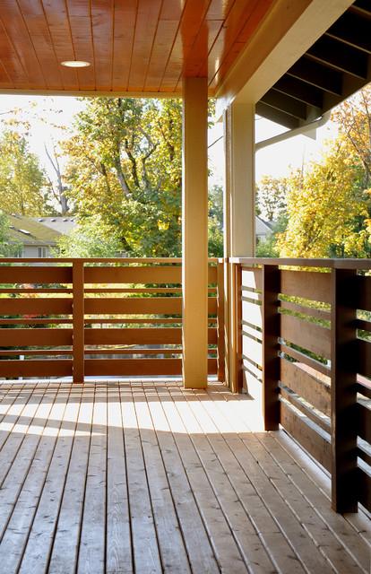 Paul Michael Davis Design Front Porch 1 Modern Verandah Seattle By Paul Michael Davis