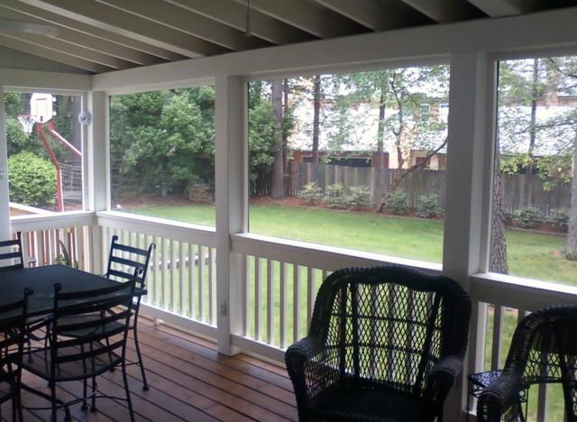 Payne-Screen Porch traditional-porch