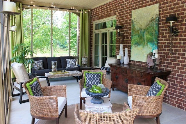 Penny Bowen Designs: Living Spaces traditional-porch
