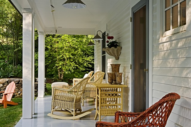 Traditional Porch by Smith & Vansant Architects PC