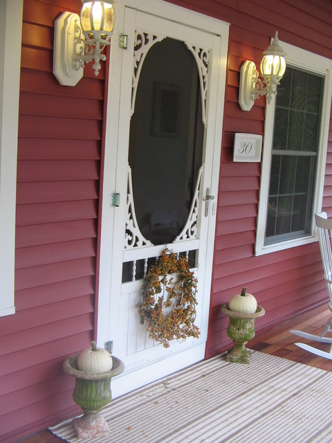 Philigry eclectic porch
