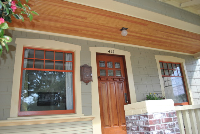 Phinney Ridge Porch Remodel traditional-porch