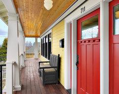 Phinney ridge residence porch craftsman-porch