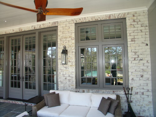 What technique and color lime wash was used to get this look - Lime wash paint exterior design ...