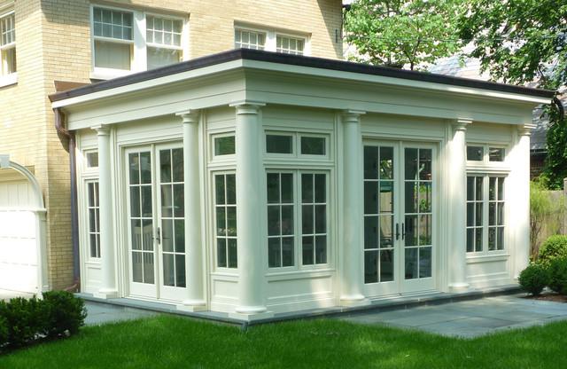 Benvenuti and Stein traditional-porch